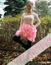 ballerina halloween costume diy pink flamingo halloween costume life with a co
