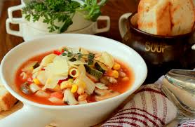 Italian Soup by Macaroni Minestrone Soup Pot Recipe Wholesome Italian Soup Made