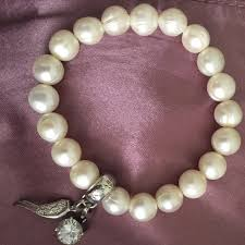 pearl bracelet with charm images 16 off thomas sabo jewelry pearl bracelet 925 thomas sabo charm jpg