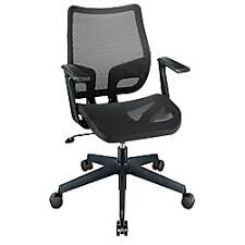 Realspace Office Furniture by Realspace Lundey Mesh Mid Back Chair Black By Office Depot U0026 Officemax