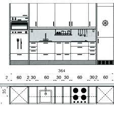 largeur plan travail cuisine hauteur plan travail cuisine trendy tabouret de plan de travail