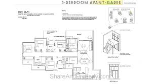 high park residences floor plan 5 bedroom avant garde condo