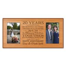 20 year wedding anniversary gifts personalized 20th anniversary gift for him 20 year wedding