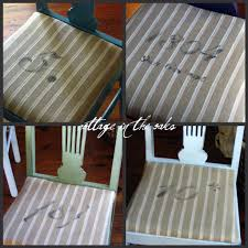 chair cushions dining room stenciling dining chair cushions cottage in the oaks