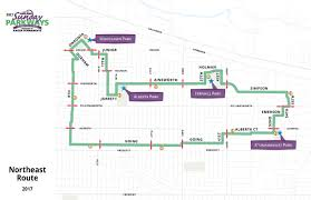 Trimet Max Map Portland Announces 10th Anniversary Sunday Parkways Season
