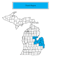 Map Of Counties In Michigan by Job Bulletin