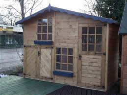 wooden playhouse play house wendyhouse wendy house 10 x 5 2 storey