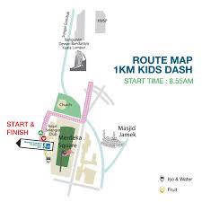 Route Map by Kl Marathon Race Info Route Map