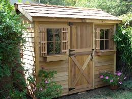 garden tool shed home outdoor decoration
