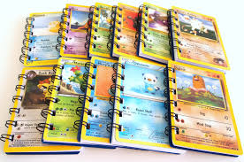 20 upcycled pokemon notebooks pokemon party favors pokemon