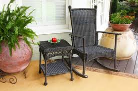 Resin Wicker Rocking Chair 15 Outdoor Rocking Chairs For Front Porch