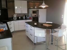 ilot de cuisine avec coin repas coin repas cuisine pas cher meuble central cuisine pas cher