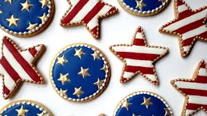 how to decorate fourth of july cookies with royal icing youtube