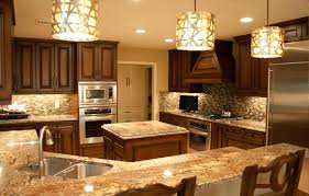Baltic Brown Granite Countertops With Light Tan Backsplash by Baltic Brown Granite Makes Your Kitchen Countertop Looks Amazing