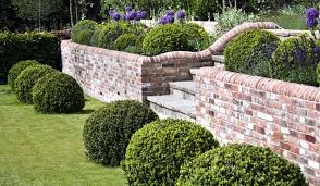 Garden Brick Wall Design Ideas Garden Walls Pictures Decorative Brick Garden Walls Brick Garden