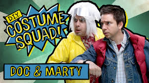 Marty Mcfly Costume Make Your Own Doc U0026 Marty Costumes Diy Costume Squad Youtube