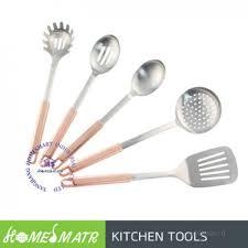 ustensile de cuisine en cuivre 5 pcs haute qualité en acier inoxydable outil de cuisine ustensile
