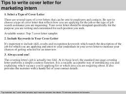 marketing intern cover letter 28 images marketing resume