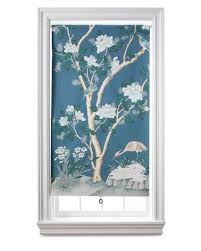 wallpaper window shade martha stewart