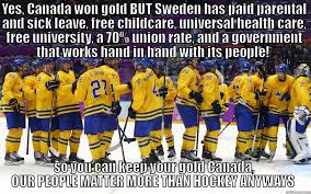 Canada Hockey Meme - our people matter more than hockey anyways quickmeme