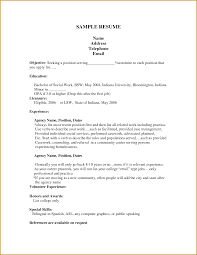 How To Start A Resume For A Job by Job Examples Of A Resume For A Job