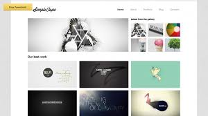 web layout grid template 15 creative beautiful grid html website templates web graphic