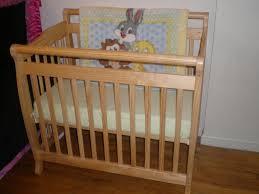Organic Mini Crib Mattress by Davinci Emily Mini Portable Crib All About Crib