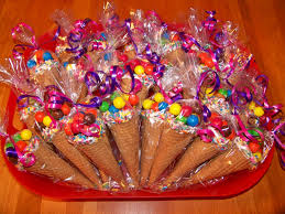 party favors candy cone party favors i dipped the rims of sugar cones in white
