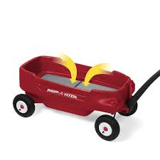 Radio Flyer Turtle Riding Toy Radio Flyer Deluxe All Terrain Pathfinder Wagon Red