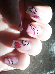 love4nailart cute valentine u0027s nail art design for long nails