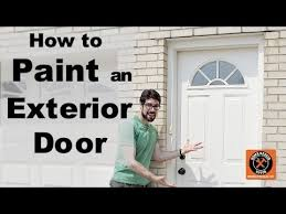 How To Paint An Exterior Door How To Paint An Exterior Door By Home Repair Tutor