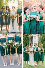 green bridesmaid dresses green with envy for these gorgeous green bridesmaid gowns