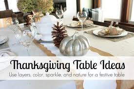 Thanksgiving Dinner Table Decorations Thanksgiving Table Ideas Decor Adventures