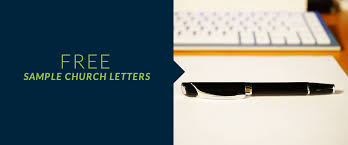 sample church fundraising and communication letters free pay