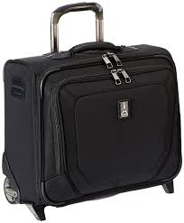 amazon com travelpro crew 10 rolling tote black one size