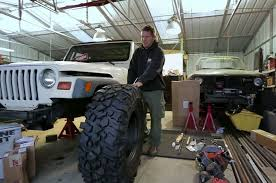 jeep wrangler garage dirt every day builds jeep wrangler tj project from scratch