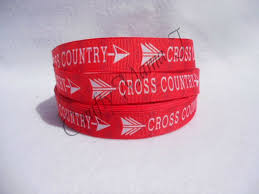 grosgrain ribbon by the yard cross country running team 7 8 grosgrain ribbon by the yard choose