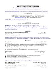 free resume templates cv format for teachers freshers download