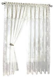 Priscilla Curtains With Attached Valance Curtains With Attached Valance Teawing Co