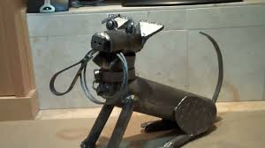 lost and found objects make a steel dog youtube