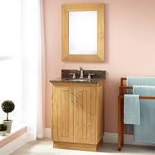 bathroom wood bathroom wall mirror frame over narrow depth vanity