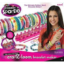 bracelet maker with rubber bands images Cra z art shimmer n sparkle cra z loom rubber band bracelet maker jpg