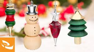 wooden tree decorations to paint wood turning ideas