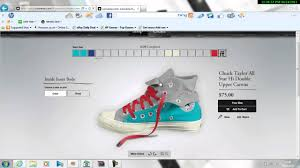 create your own converse
