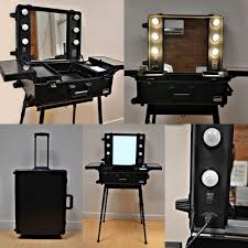 professional makeup lights professional makeup kit with lights and mirror trolley blauearth