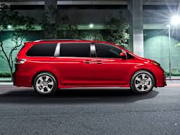 toyota minivan 2017 toyota sienna deals prices incentives u0026 leases overview