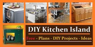 how to build kitchen cabinets free plans pdf kitchen island plans ideas construct101