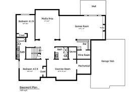 Basement Remodeling Floor Plans Home Floor Plans With Basement Basements Ideas