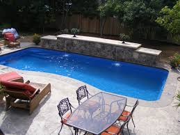 semi inground pools inground fiberglass pools are easier to