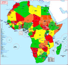 africa map 2014 hisatlas map of africa 2011